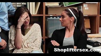 Mom & Daughter Caught & Fucked For  |shopliftersex.com