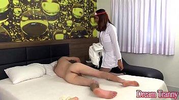 Tranny tit torture Shemale nurse yasmin fontes fucks a guy