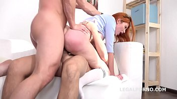 Gisha Forza 2on1 DP Balls Deep Anal, Multiple DP, Cum in Mouth GL069
