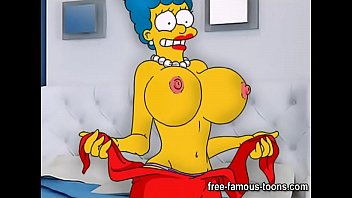 Simpsons sex with marge - Simpsons hentai parody sex