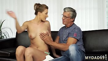 Step daddy punishment xxx Sex with her boyplayfellow´s father after