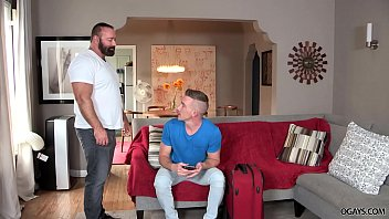 Gay bear sex stories Bear daddy fucks his handsome tenant