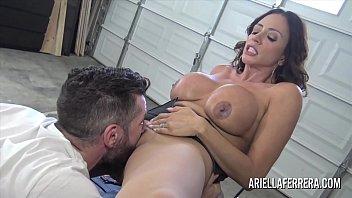 Milfs and mechanics Ariella ferrera pays the bills with her hot fuck hole