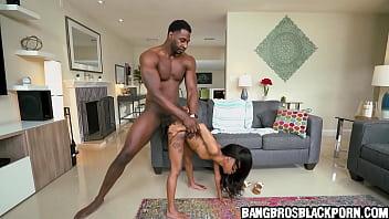 Giant Black Guy Fucks A Tiny Black Girl - Ebony Porn