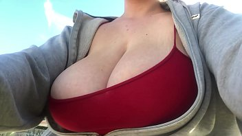 Morning Bike Ride With My Big Bouncy Boobs