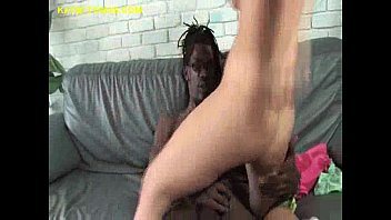Black Cum for Young Katie pussy black straight