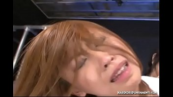 Big Titted Asian Submissive Hogtied And Dominated By Group Of Maledoms