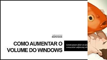 TUTORIAL: como aumentar o volume do Windows