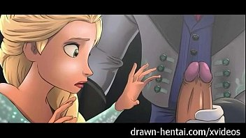 Frozen Hentai - Elsa&#039_s wet dream