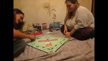 Fat Bitch Loses Monopoly Game and Gets Breeded as a result