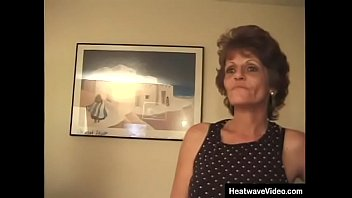 Sweet old grandma fucks and blowjob in the bedroom