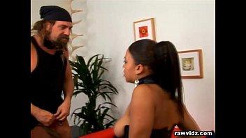 Voluptuous Ebony Takes Raw Banging