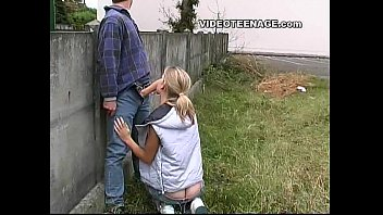 Teenage girl asses - Blonde teen nude in public