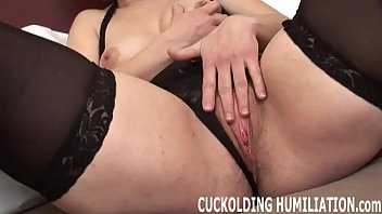 I will choke on his cock while you have to watch