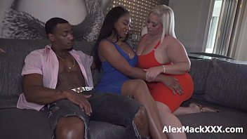 Interracial couple swap turned into a hardcore foursome