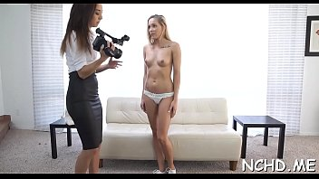 Legal age teenager hotty flirts with a dude to fuck in front of the camera