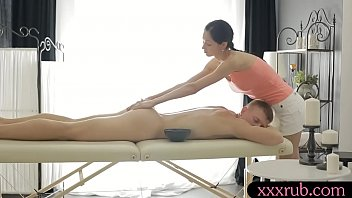 Sexy Busty Masseuse Gets Her Pussy Banged By Her Client