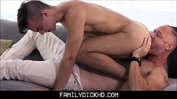 Gay boy wants to be fucked - Horny step dad fucks step son after being jealous of his new boyfriend