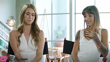 Pretty & Raw - Jill Kassidy & Kitty Carrera Share A Big Dick