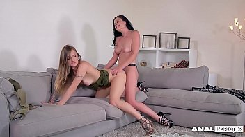 Anal inspectors go nuts when Dolly Diore and Natasha Starr share big dick