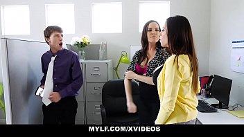 MYLF - Employee Blackmails and Fucks MYLF Executives