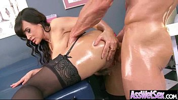 Horny Girl (lisa ann) With Big Round Ass Get Anal Intercorse mov-18 image