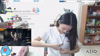 Twitch Streamer Japanese Flashing Perfect Shape Boobs In An Exciting Way