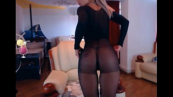 1 4-20 nylon tip thumb screw Camgirls in encased pantyhose compilation part 1