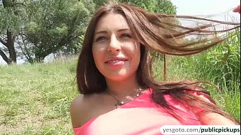 Bigtits Russian Babe Ally Gets Pick Ip In The Lake And Fucked Outdoors