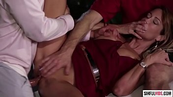 Jessica Drake double penetrated on hood of the car - An Inconvenient Mistress Scene 3