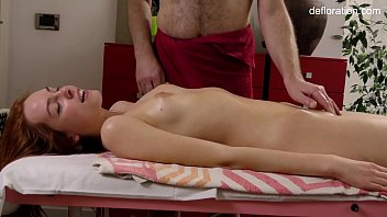 Russia virginity - Amy ledenez massage for the first time