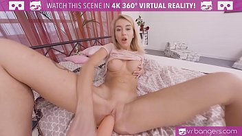 VRBangers.com Perky Blonde Suck and Fucked Hard in Her Dream