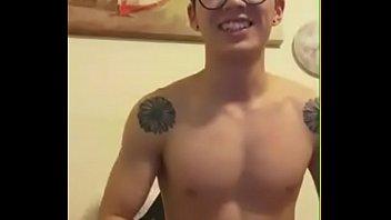 Cute guy handjob 中国帅哥撸管