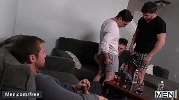 Men.com - (Ashton McKay, Connor Maguire) - Dad Group Part 3 - Jizz Orgy