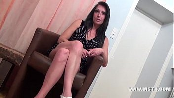French MILF bitch Cristale make a casting to have her 1st porn experience!Sexy!! - 28 min