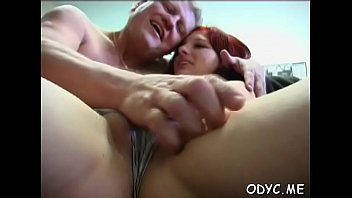 Pretty girl gives hot oral-sex