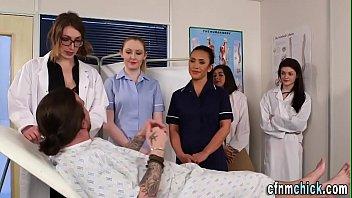 Femdom uniformed nurse