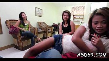 Gang bang vidios - Rear gang bang for an asian girl