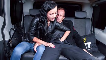 FUCKED IN TRAFFIC - Ukrainian girl Daphne Klyde gets dicked at the car service
