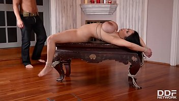 Submissive Slut Tigerr Benson Bound and Fucked in the Ass