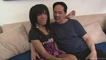 Image: Black girl has fun with a white guy