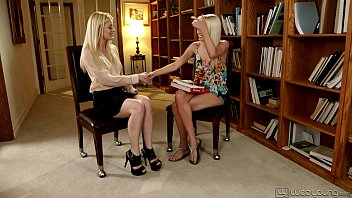 Aubrey Star and Charlotte Stokely at WebYoung