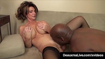 Boss employee fuck video - Cougar boss deauxma fucked by big black cock employee