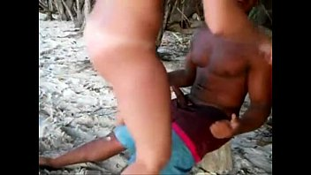 Teen rides random boy at the beach bareback on her girl's holidays.
