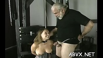Cock loving elegant woman is showing her body