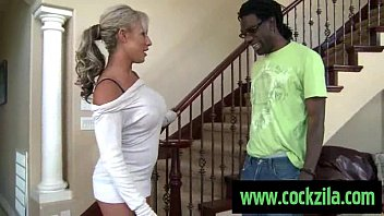 Interracial mag Milf likes big black cock . interracial sex