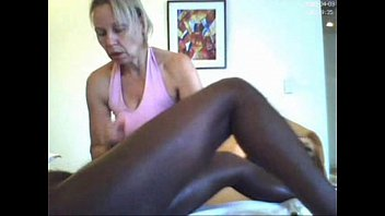 mature massages black cock can'_t avoid to suck it