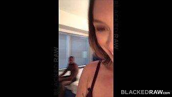 BLACKEDRAW Smoking Swinger wife tries black cock thumbnail