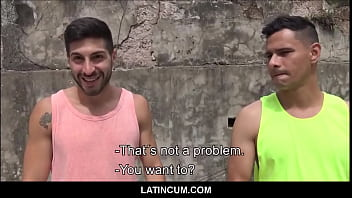 """Straight Latino Boy & Gay Best Friend Fuck For Cash <span class=""""duration"""">8 min</span>"""