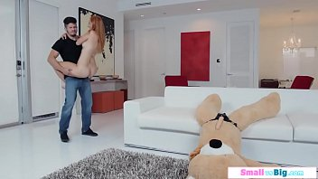 Petite teen rides a toy and bfs big cock